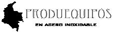 PRODUEQUIPOS EN ACERO Logo